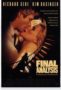 Final Analysis - 11 x 17 Movie Poster - Style A