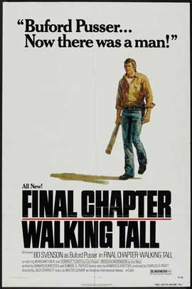 Final Chapter: Walking Tall - 11 x 17 Movie Poster - Style A