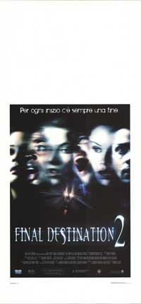 Final Destination 2 - 13 x 28 Movie Poster - Italian Style A
