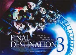 Final Destination 3 - 11 x 17 Movie Poster - Style B