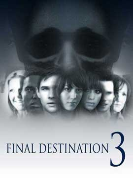 Final Destination 3 - 11 x 17 Movie Poster - Style D