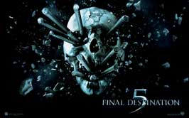 Final Destination 5 - 11 x 17 Movie Poster - Style D