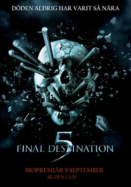 Final Destination 5 - 11 x 17 Movie Poster - Swedish Style A