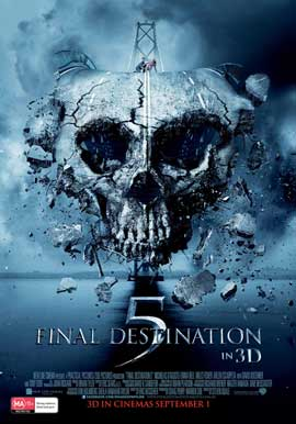 Final Destination 5 - 11 x 17 Movie Poster - Australian Style A