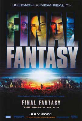 Final Fantasy: The Spirits Within - 27 x 40 Movie Poster - Style A