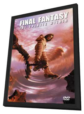 Final Fantasy: The Spirits Within - 27 x 40 Movie Poster - Style B - in Deluxe Wood Frame