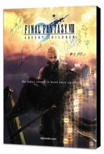 Final Fantasy VII: Advent Children - 11 x 17 Movie Poster - Style A - Museum Wrapped Canvas