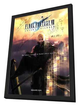 Final Fantasy VII: Advent Children - 27 x 40 Movie Poster - Style A - in Deluxe Wood Frame