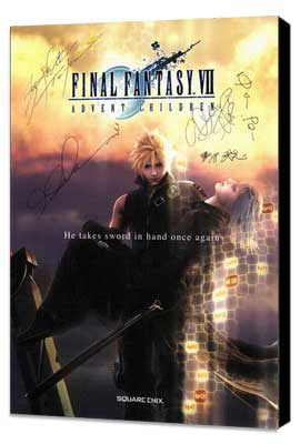 Final Fantasy VII: Advent Children - 27 x 40 Movie Poster - Style A - Museum Wrapped Canvas