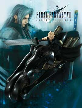 Final Fantasy VII: Advent Children - 11 x 17 Movie Poster - Style C