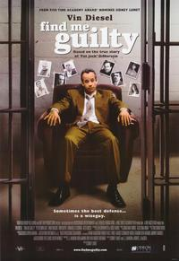 Find Me Guilty - 43 x 62 Movie Poster - Bus Shelter Style A