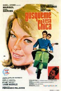 Find That Girl - 11 x 17 Movie Poster - Spanish Style A
