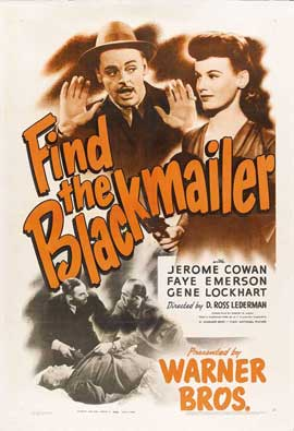 Find the Blackmailer - 27 x 40 Movie Poster - Style A