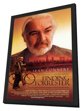 Finding Forrester - 27 x 40 Movie Poster - Style A - in Deluxe Wood Frame