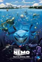 Finding Nemo - 27 x 40 Movie Poster - Style A