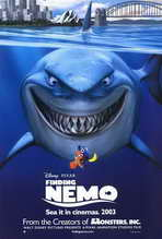 Finding Nemo - 27 x 40 Movie Poster - Style B