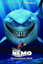 Finding Nemo - 27 x 40 Movie Poster - Style E