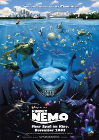 Finding Nemo - 27 x 40 Movie Poster - German Style A