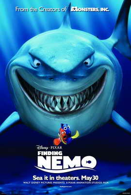 Finding Nemo - 27 x 40 Movie Poster - Style E