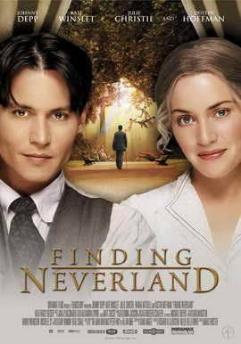 Finding Neverland - 27 x 40 Movie Poster - Norwegian Style A