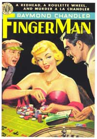 Finger Man - 11 x 17 Retro Book Cover Poster