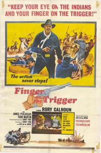 Finger on the Trigger - 11 x 17 Movie Poster - Style A