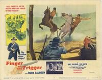 Finger on the Trigger - 11 x 14 Movie Poster - Style B