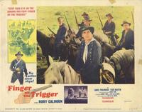 Finger on the Trigger - 11 x 14 Movie Poster - Style E