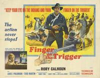 Finger on the Trigger - 11 x 14 Movie Poster - Style A