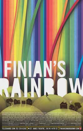Finian's Rainbow (Broadway) - 14 x 22 Poster - Heavy Stock