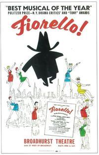 Fiorello (Broadway) - 11 x 17 Poster - Style A