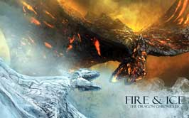 Fire & Ice - 11 x 17 Movie Poster - Style A