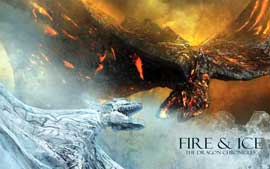 Fire & Ice - 27 x 40 Movie Poster - Style A