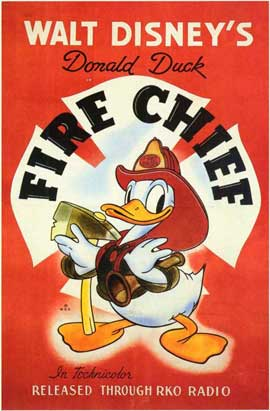 Fire Chief - 11 x 17 Movie Poster - Style A