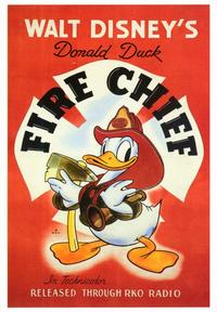Fire Chief - 43 x 62 Movie Poster - Bus Shelter Style A