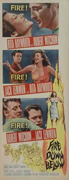 Fire Down Below - 14 x 36 Movie Poster - Insert Style A