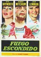 Fire Down Below - 11 x 17 Movie Poster - Spanish Style A