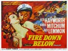 Fire Down Below - 11 x 17 Movie Poster - UK Style A