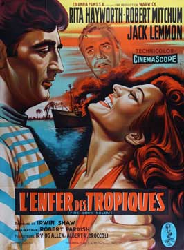 Fire Down Below - 11 x 17 Movie Poster - French Style A