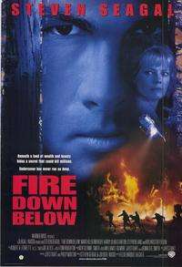Fire Down Below - 43 x 62 Movie Poster - Bus Shelter Style A