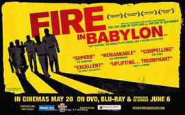 Fire in Babylon - 11 x 17 Movie Poster - UK Style A