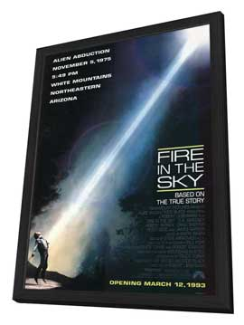 Fire in the Sky - 11 x 17 Movie Poster - Style A - in Deluxe Wood Frame