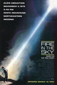 Fire in the Sky - 11 x 17 Movie Poster - Style A - Museum Wrapped Canvas