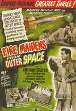 Fire Maidens From Outer Space - 11 x 17 Movie Poster - Style B