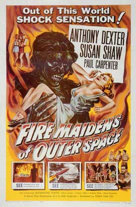 Fire Maidens From Outer Space - 11 x 17 Movie Poster - Style A