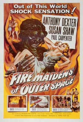 Fire Maidens From Outer Space - 27 x 40 Movie Poster - Style A