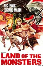 Fire Monsters Against the Son of Hercules - 11 x 17 Movie Poster - Style A