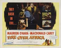 Fire Over Africa - 22 x 28 Movie Poster - Half Sheet Style A