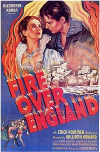 Fire Over England - 27 x 40 Movie Poster - Style A