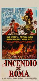 Fire Over Rome - 13 x 28 Movie Poster - Italian Style A